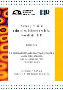Nación y estudios culturales